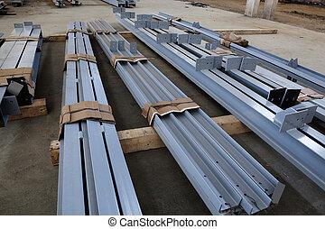 new welded metal beams