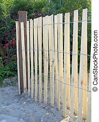 New Wooden Dune Fence