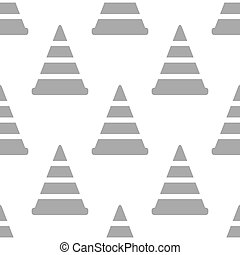New Worker sign seamless pattern