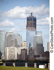 New World Trade Center-NYC - First of the new World Trade...
