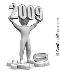 New Year. 2009