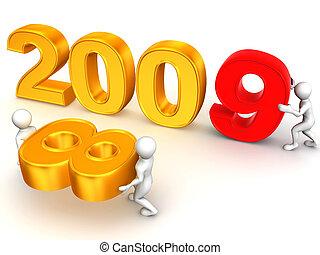 New Year. 2009.