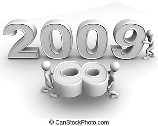 New Year. 2009