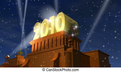 New Year 2010 celebration title