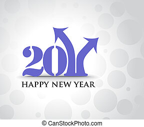 new year 2011 in white background. Vector illustration