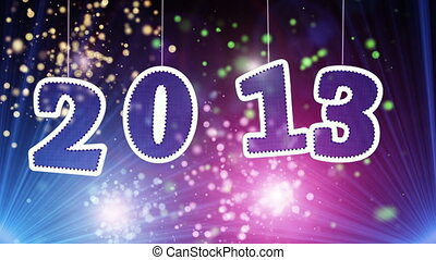 new year 2013 celebration. Part 5.00-15.00 are loopable