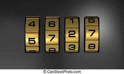 New Year 2013 code lock