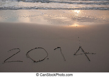 New Year 2014 coming