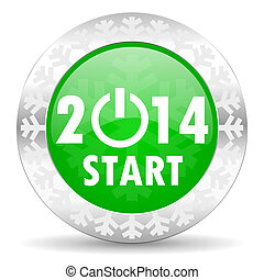 new year 2014 icon