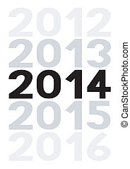 New year 2014 is coming soon5