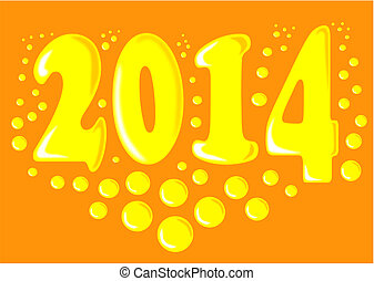 New year 2014.