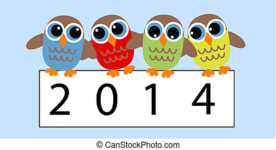 new year 2014 owls