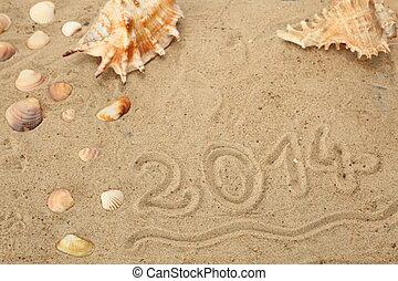 new year 2014 symbol