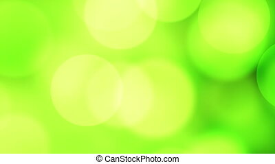 new year 2015 greeting glowing green particles loop