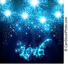 New Year 2016 easy all editable