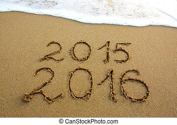 New Year 2016 .