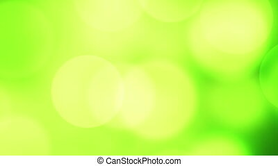 new year 2017 greeting glowing green particles loop