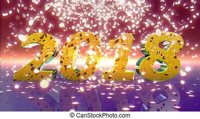 New Year 2018 Animation