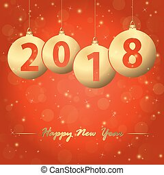 new year 2018 christmas bubbles