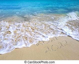 New Year 2022 Beach