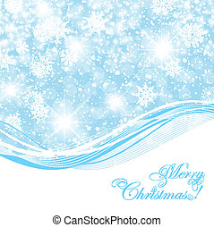 New Year and Christmas Abstract Background