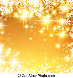 New Year and Christmas Bright Background