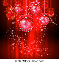 New year and Christmas holidays colorfull background