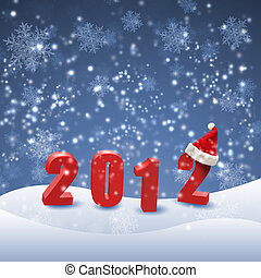 New year and Christmas holidays