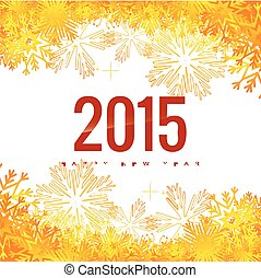 new year background 2015