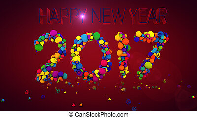 New Year Balls Display 2017