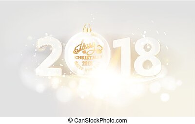 New year calendar label.
