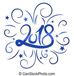 New Year card.