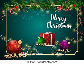 New year Christmas 6 background for decoration design of cards and holiday products gifts
