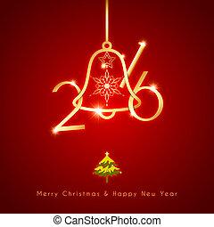 New Year Christmas Holidays Celebra