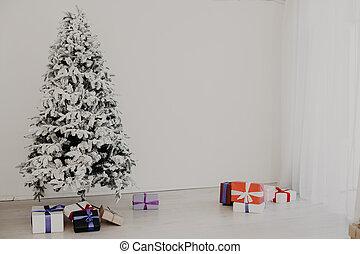 New Year Christmas Tree gifts Christmas holiday vacation