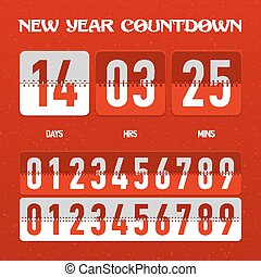 New Year countdown timer