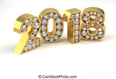 New Year Diamonds 2018
