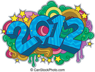 New Year Doodle