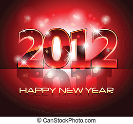 new year eve greeting background