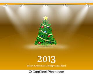 New year fIr-tree