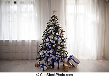 new year gifts decor Christmas tree