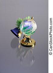 New year globe