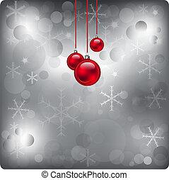 New Year glowing bokeh background
