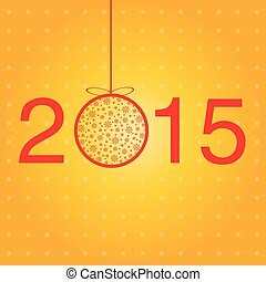 New year greeting template