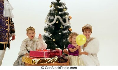 New Year In A Family Of Aristocrats