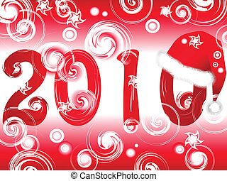 New Year in red
