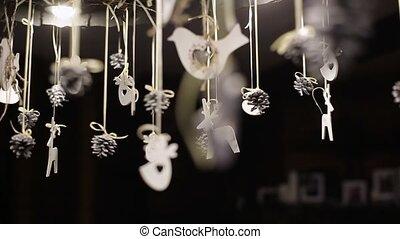 New year interior decoration