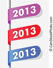 new year labels