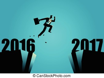 New Year New Opportunities - Business concept illustration...