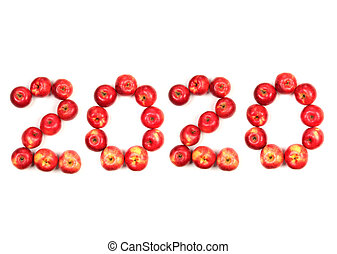 New year of apples